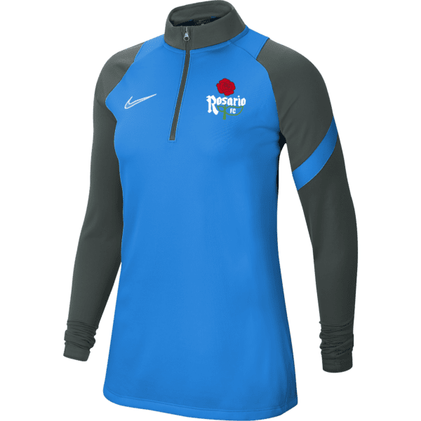 Rosario Ladies Academy Pro Royal Quarter Zip