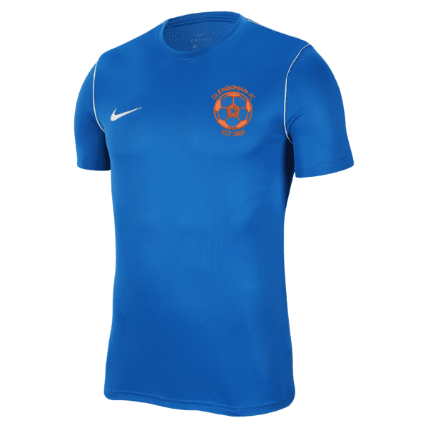 Glendowan Nike Park 20 Royal Tee 1