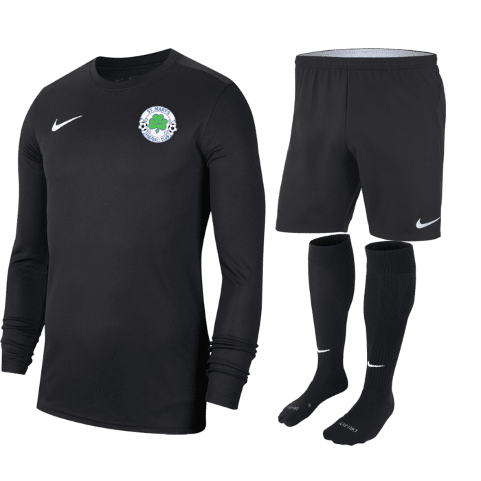 St Marys Glengormley GK kit black (Adult)