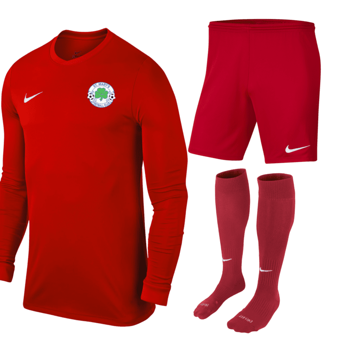 St Marys Glengormley GK kit red (Adult)