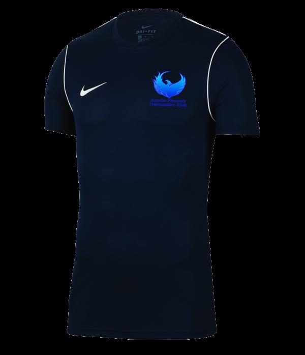 Antrim Pheonix Trampoline Navy Nike Park 20 Tee