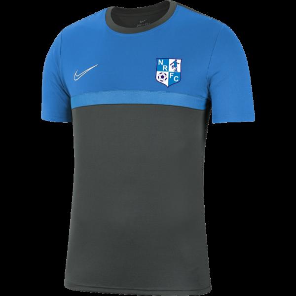 Newington Rangers Sky Blue Nike Academy Pro Tee