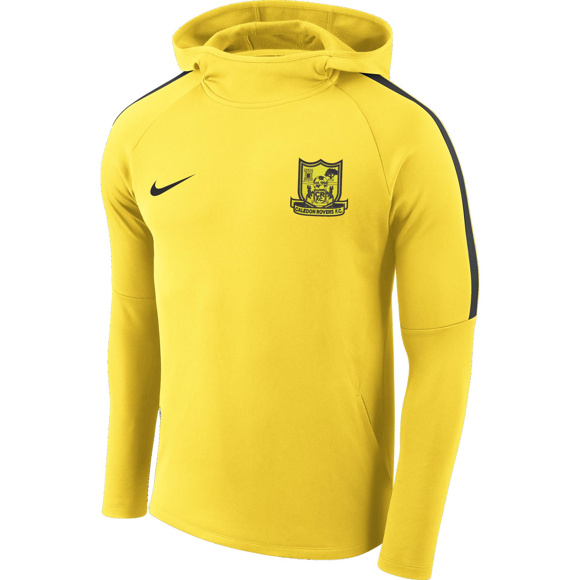 caledon rovers fc academy hoody yellow  35825 p