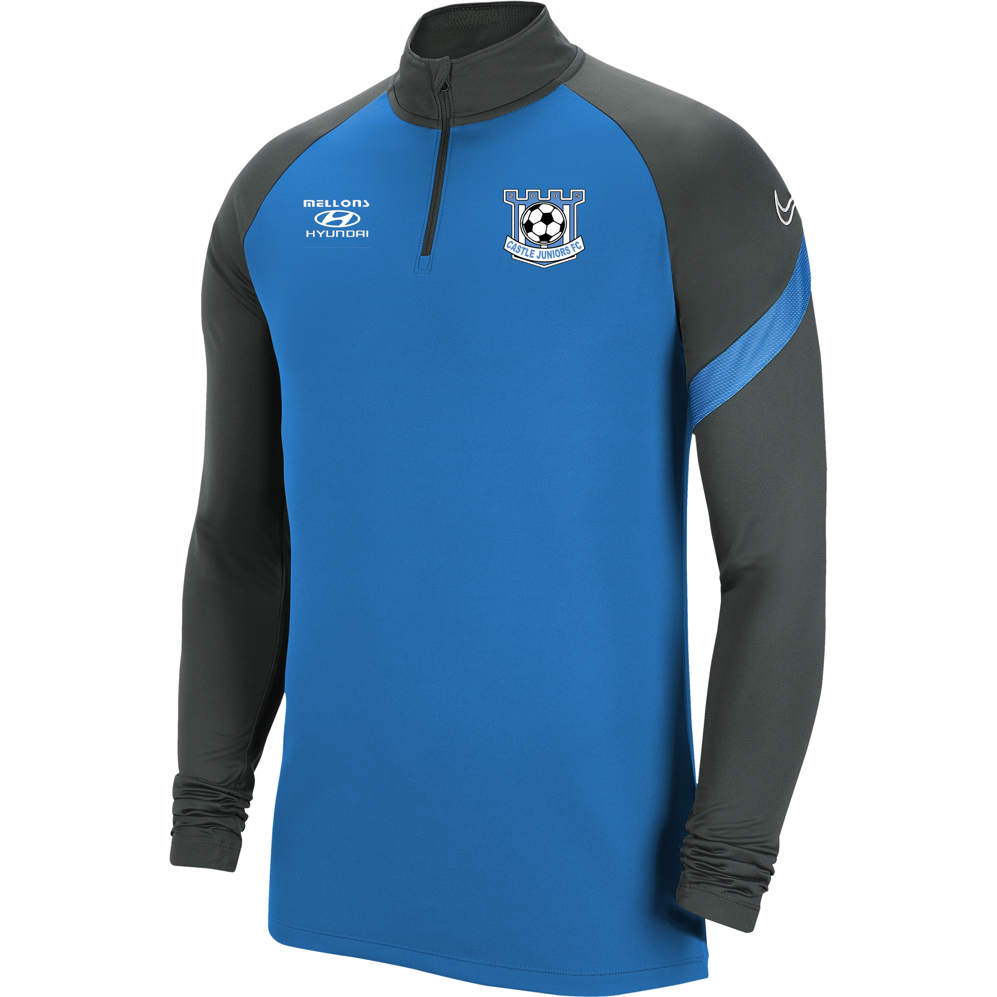 castle bangor academy pro 1 4 zip sizes xl boys 21485 p