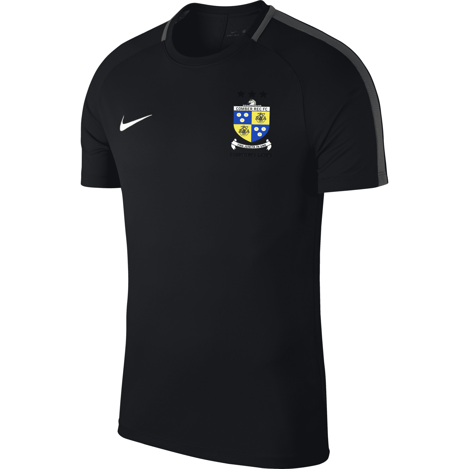 comber rec ladies academy tee black 34634 p