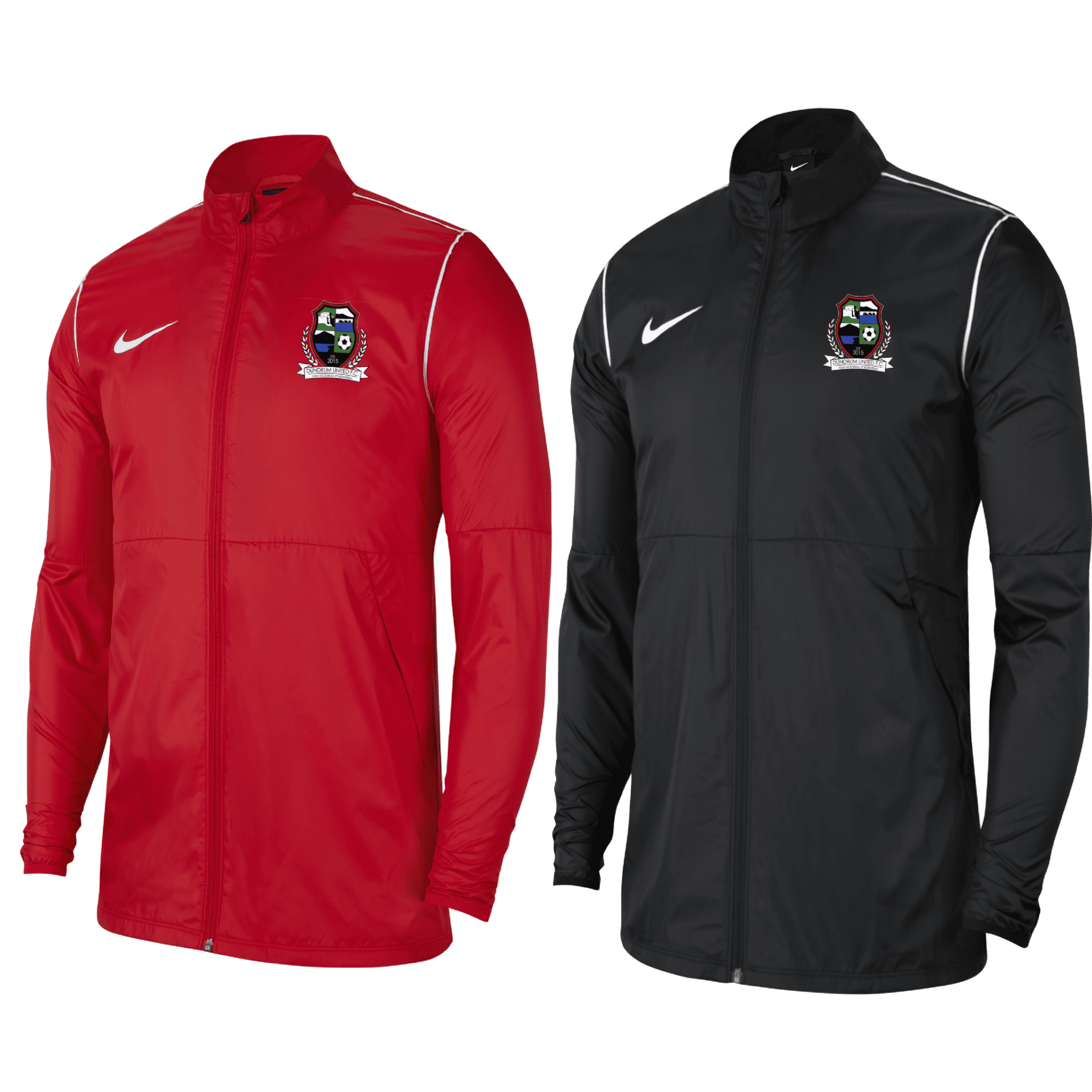 dundrum fc park rain jacket red  34095 p