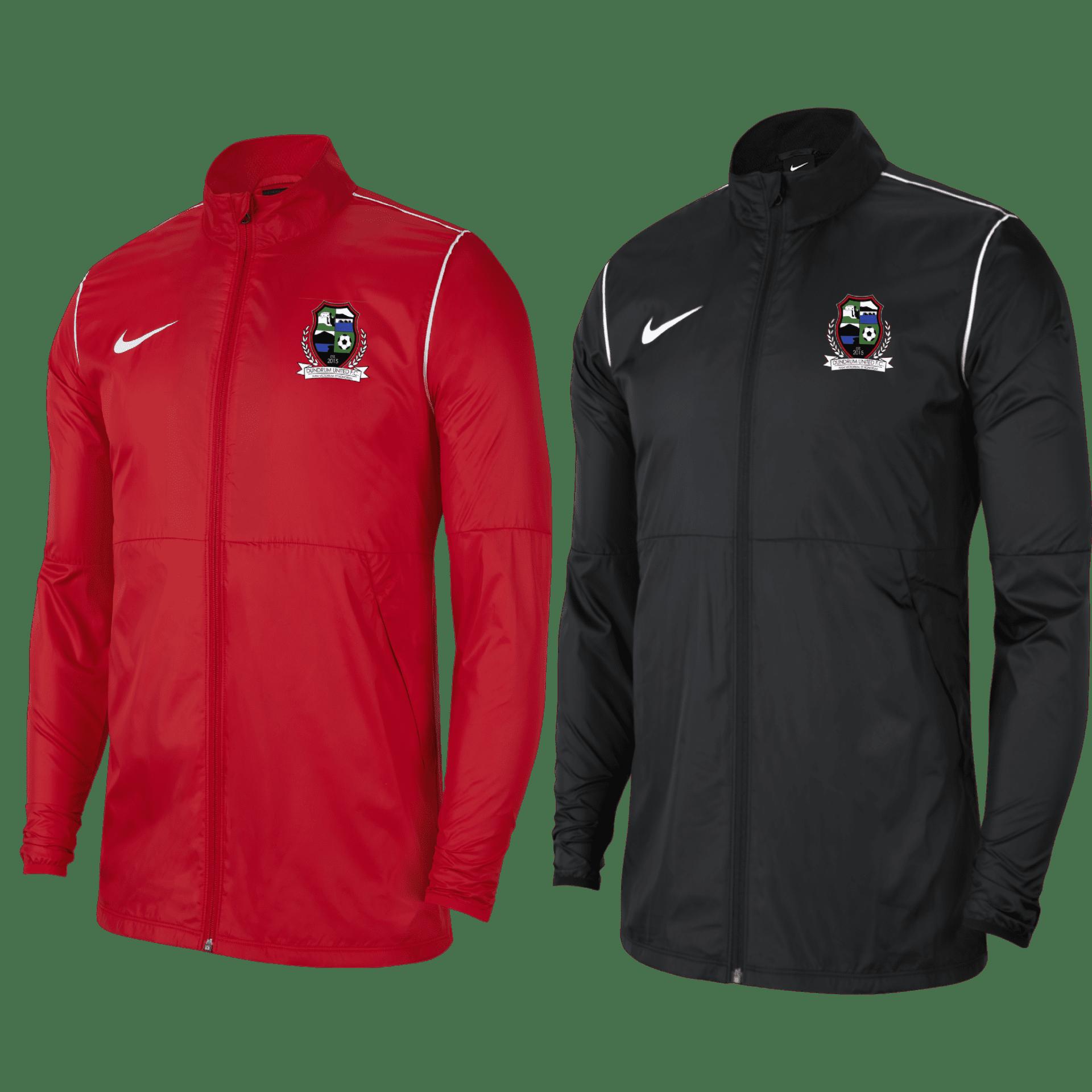 Dundrum fc park rain jacket (red)