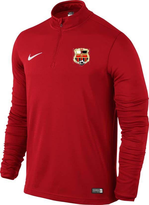 east belfast fc academy 1 4 zip red 22186 p