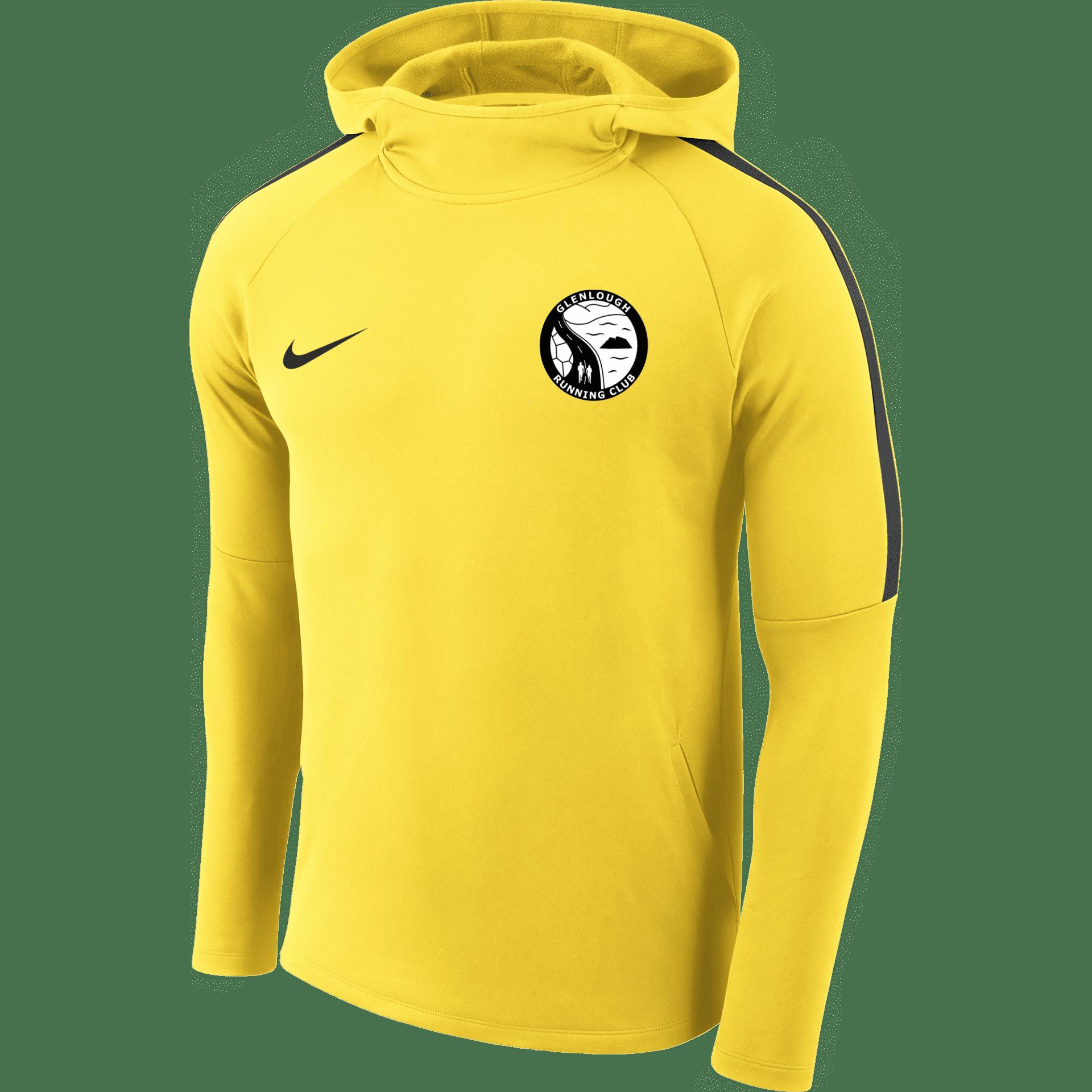 glenlough running club academy hoody yellow  35501 p