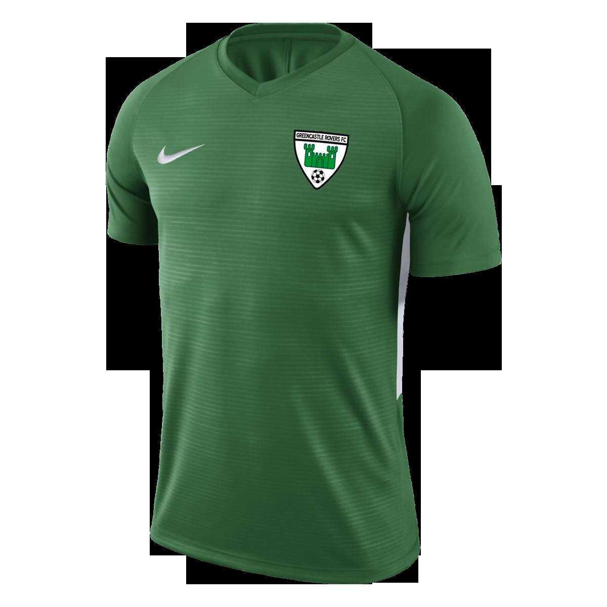 greencastle rovers green tiempo jersey 38800 p