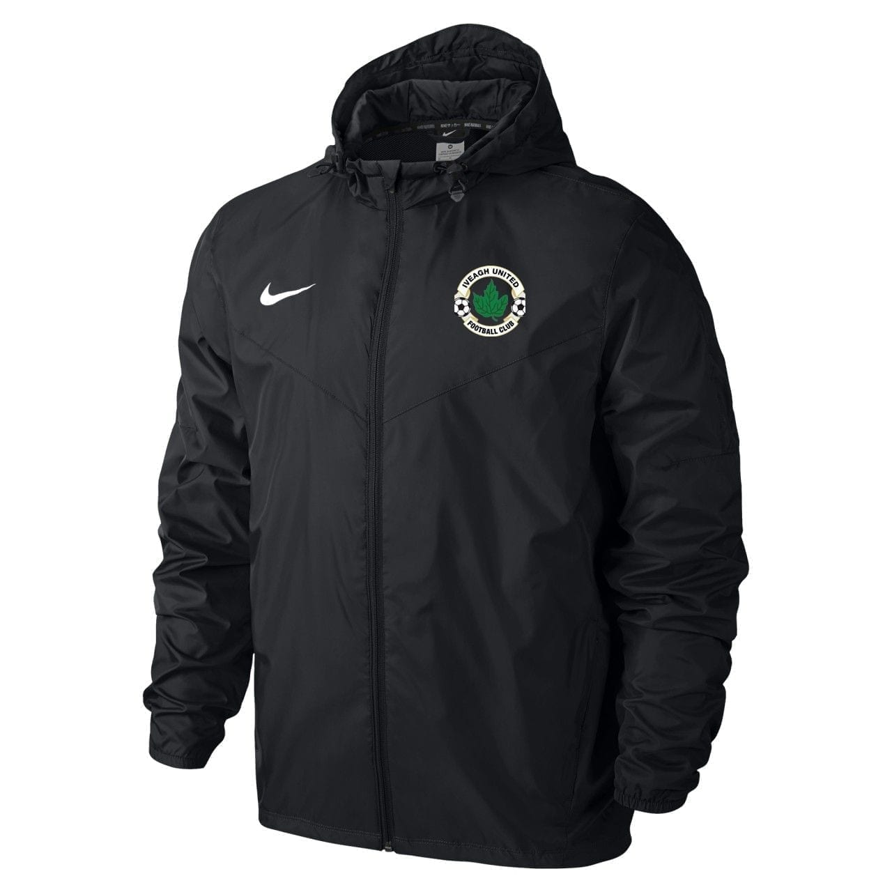 iveagh utd black rain jacket 28139 p