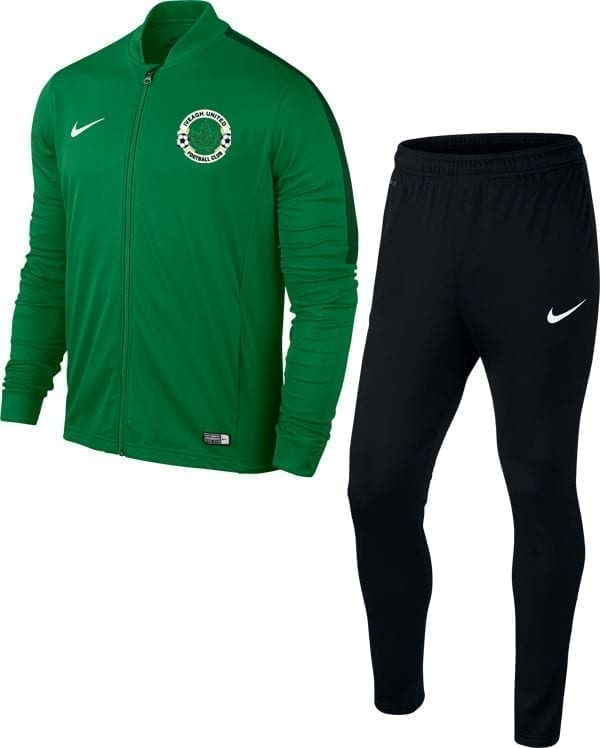iveagh utd green knit tracksuit 28115 p