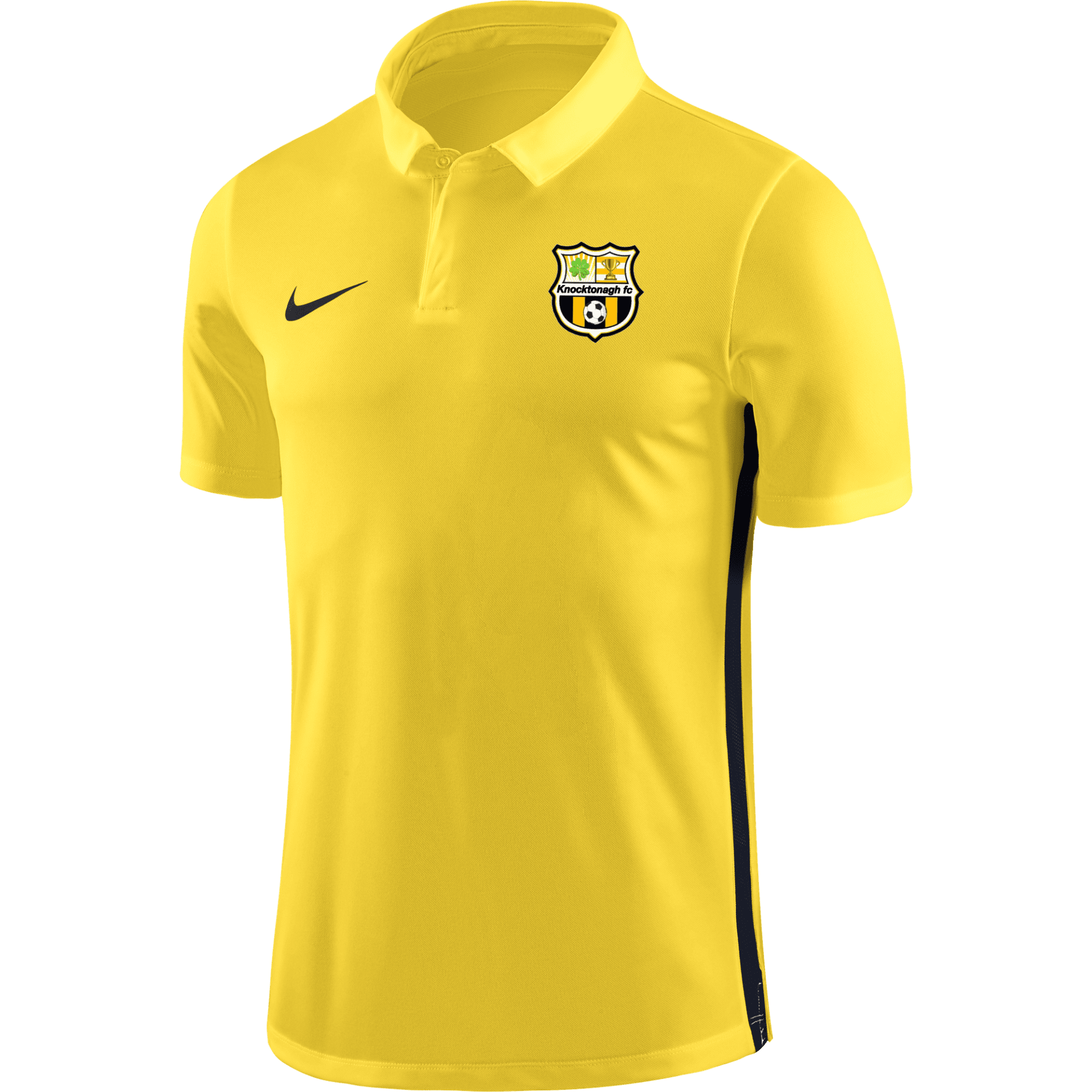 knocktonagh fc academy polo yellow 35417 p