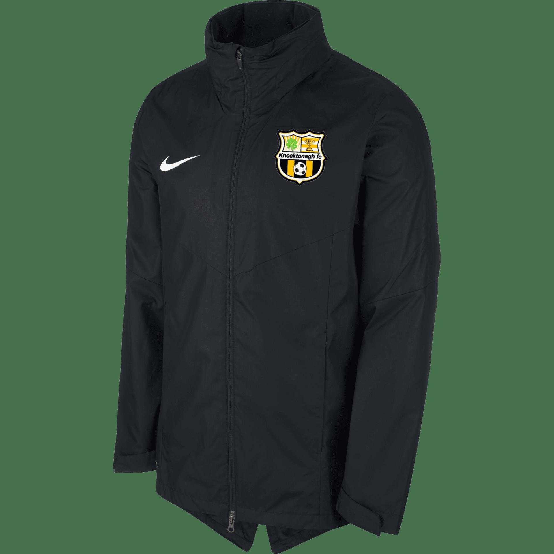 knocktonagh fc academy rain jacket black 35361 p