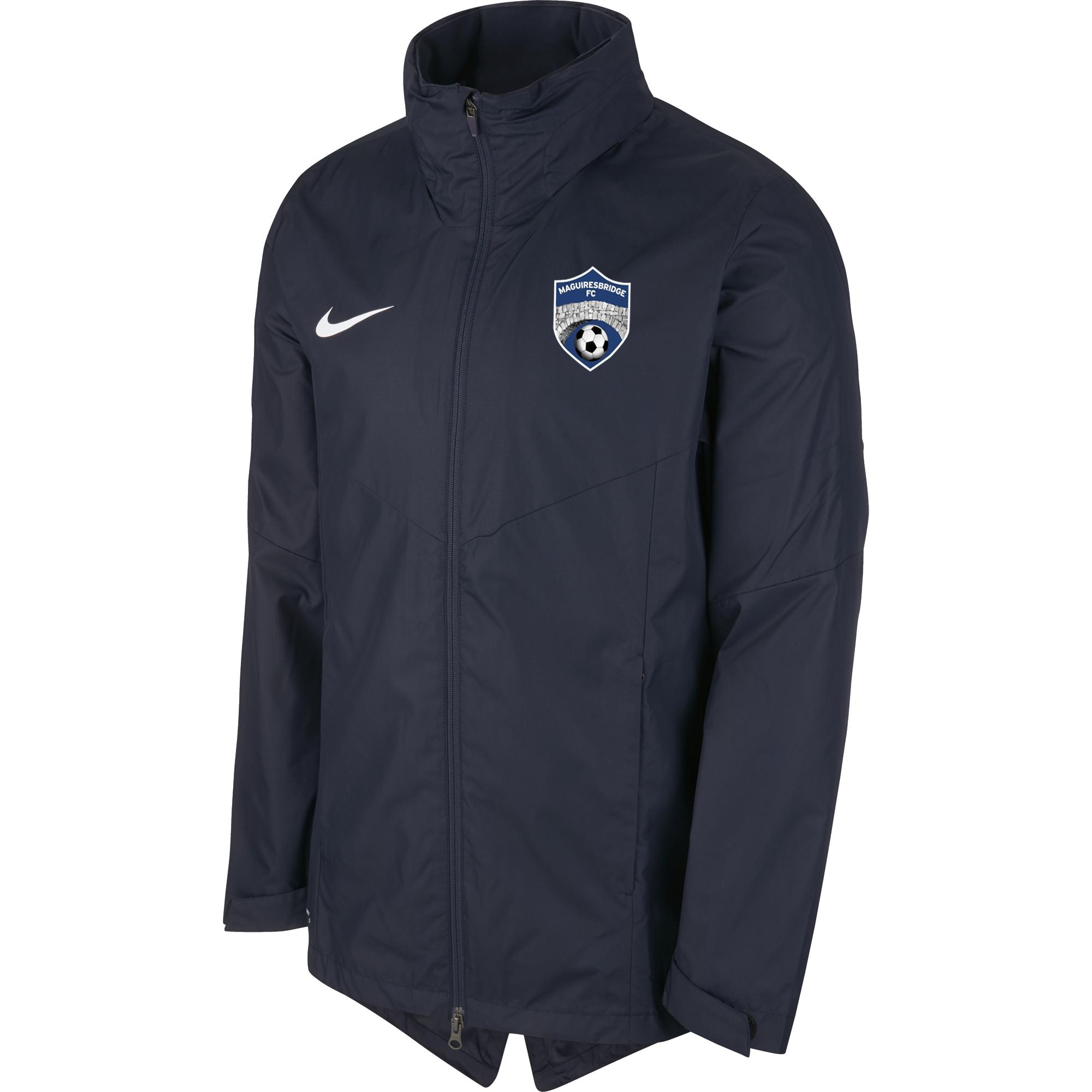 maguiresbridge fc academy rain jacket navy 35581 p