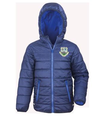 markethill swifts unbranded puffa jacket size xl boys 36632 p