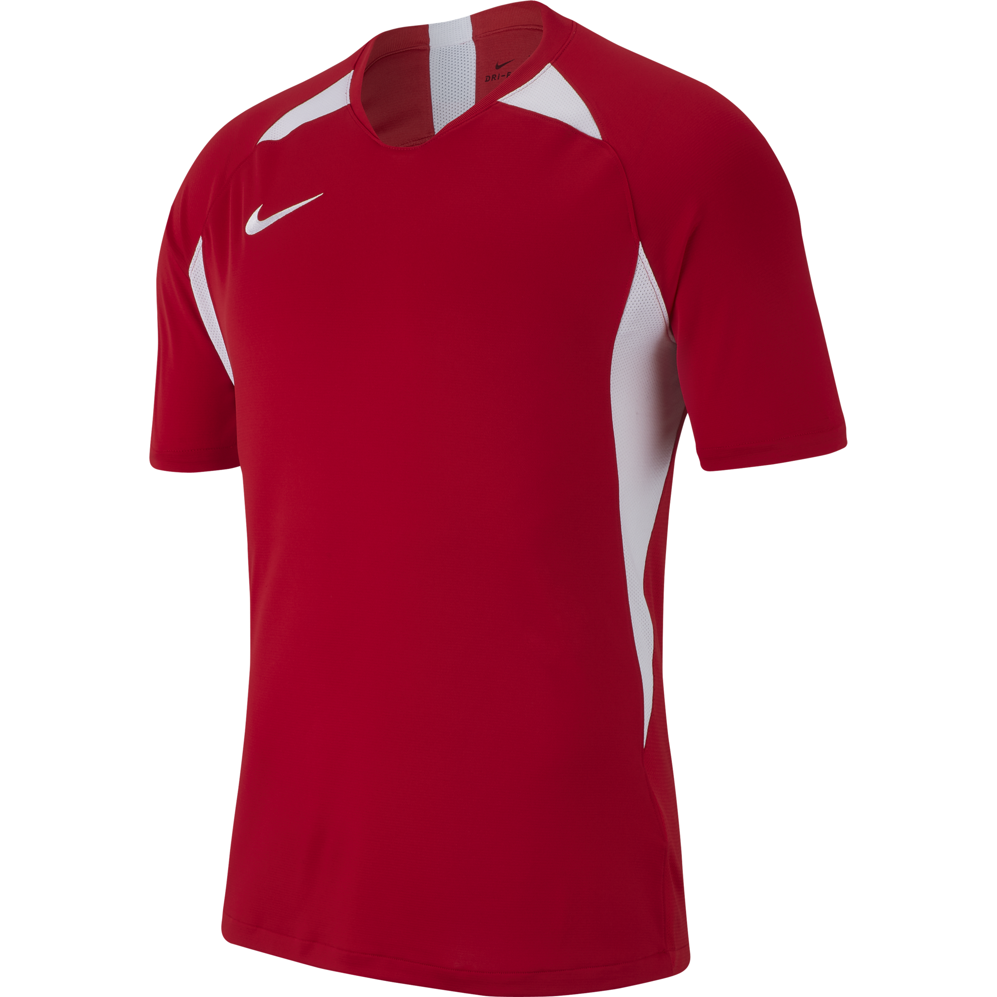 nike legend jersey uni red white  15984 p