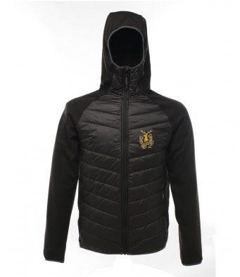north belfast harriers black unbranded regatta jacket size xxl adults 24945 p