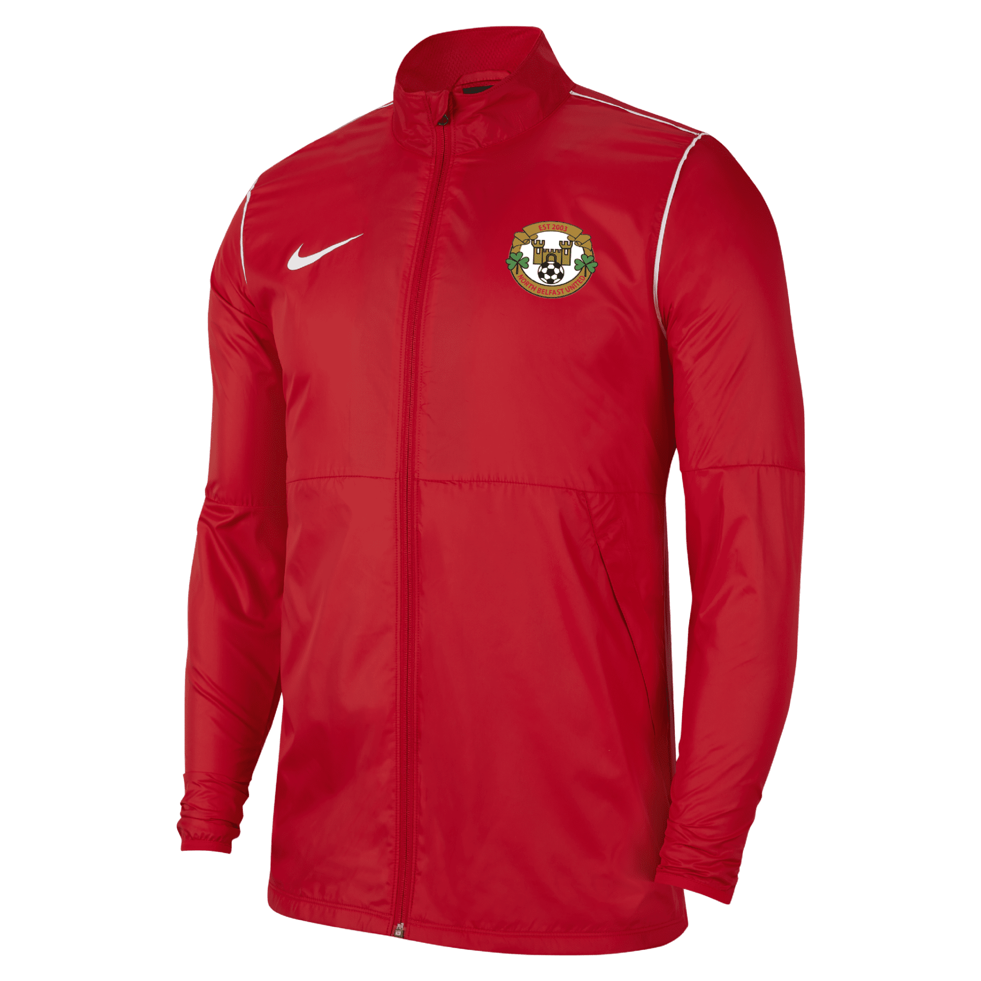 north belfast united park rain jacket red  34026 1 p