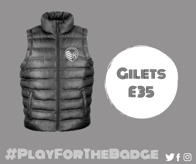padded gilet with club badge 37422 1 p