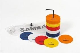 samba flat markers 33882 p