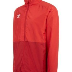 Shower jacket red