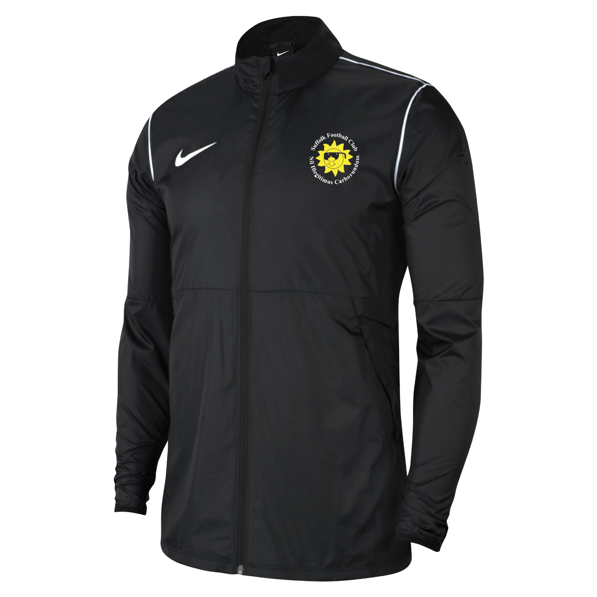 Suffolk FC  park 20 rain jacket