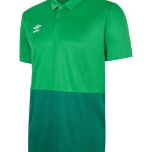 training poly polo emerald/green