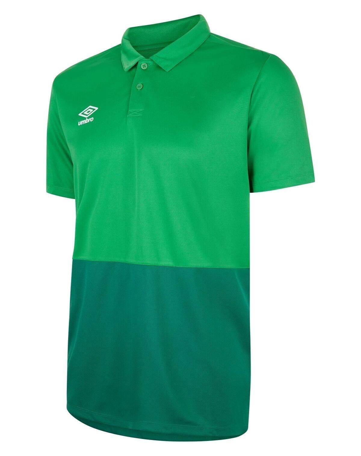 training poly polo emerald green 30403 p