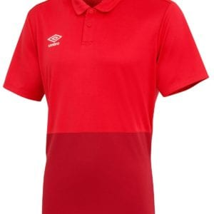 Training poly polo red
