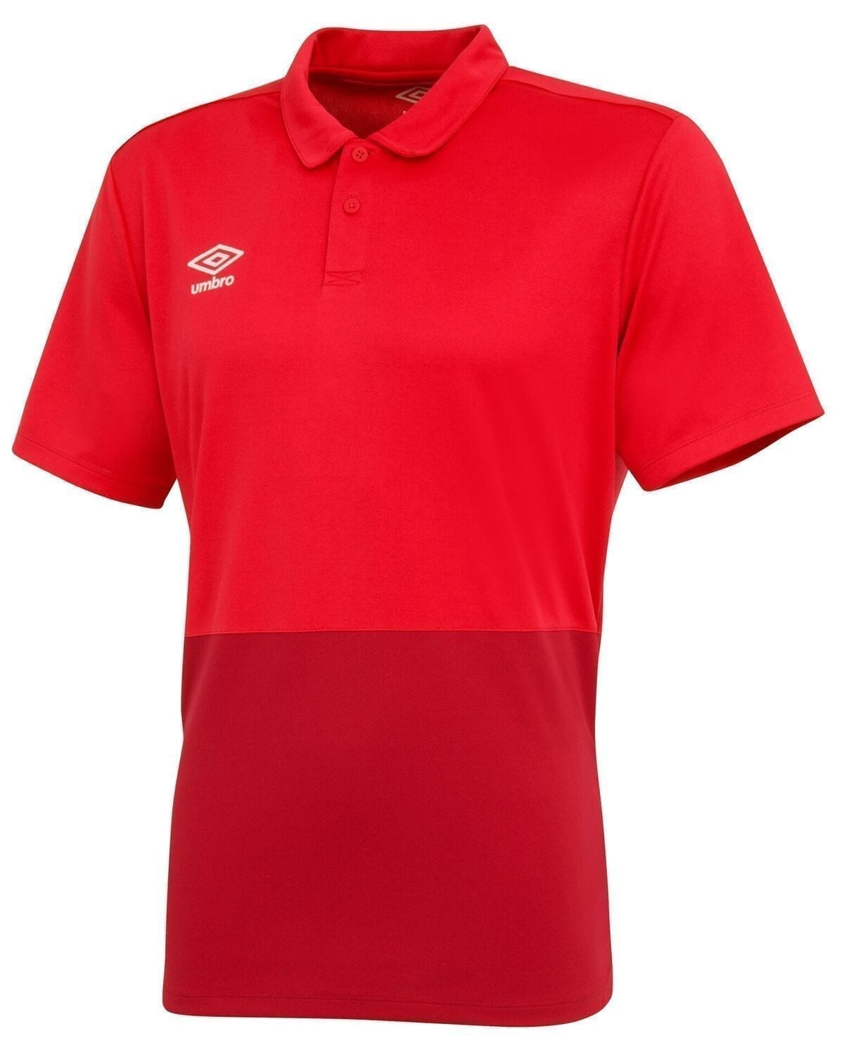 training poly polo red 30373 p