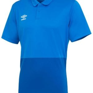 Training poly polo royal/frenchblue