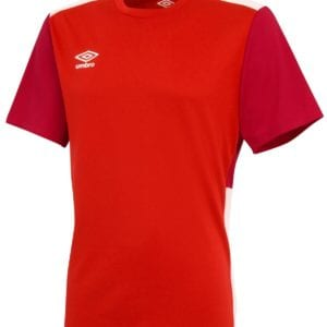 Training poly tee red